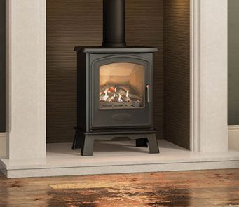 The flame picture of a gas stove is remarkably reminiscent of the real thing and the heat is comparable in quality to the warmth radiating from larger woodburning or multifuel models.