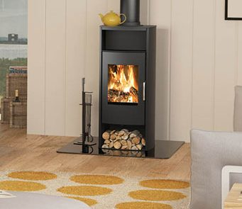 Having a woodburning stove will not only give you a great fire but also ensure a dramatic sense of warmth in your room.