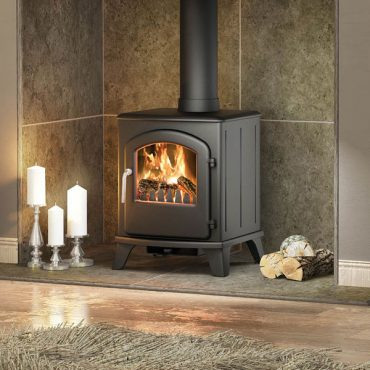 A Broseley multifuel stove offers flexibility of choice. An interchangeable grate ensures a current of air sweeps beneath the coals or, once removed allows wood to burn on a flat surface building up to a bed of embers.