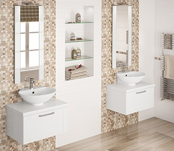 Transforms your bathroom, creating a stylish, opulent look.
