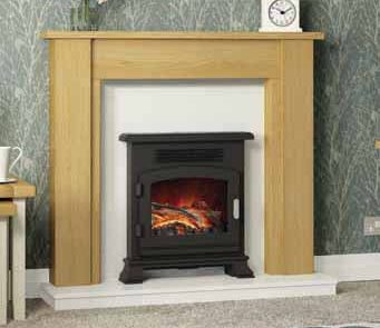 New styles, new finishes and individually selected real wood veneers have led to a stunning resurgence in timber fireplaces. The collection offers a range of options from classic through to modern, each one a timeless piece of workmanship.